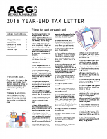 Year end 2018 Client Letter